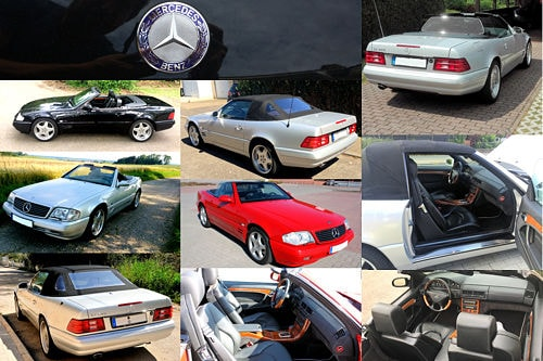 Mercedes SL R129 Final Edition Die 674
