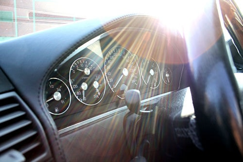 Mercedes SL R129 Final Edition Interieur